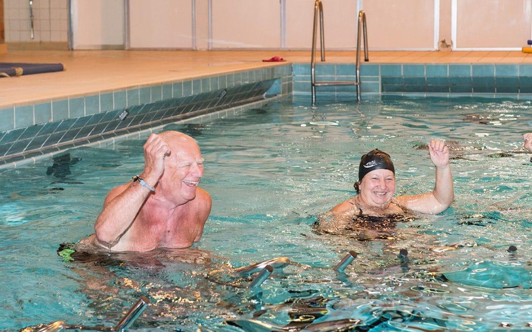 L'aquabike pour seniors
