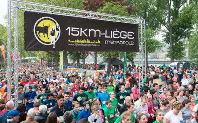 Les 15 km de Liège