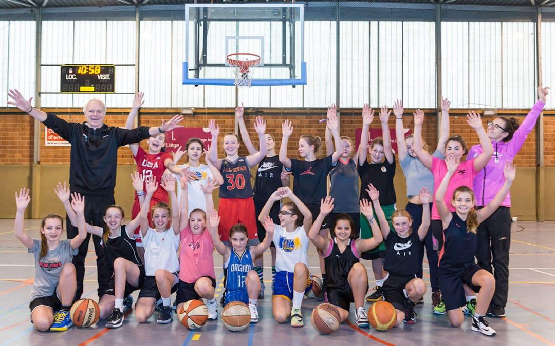 Basket 100% féminin, stages 2022, agenda et inscriptions