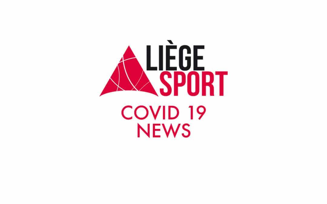 La Covid 19 et le sport, dernières informations