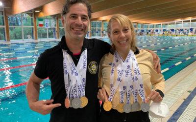 Nage avec palmes: Deux Liégeois au sommet de l'Europe