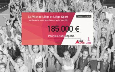 185.000 euros pour les clubs liégeois