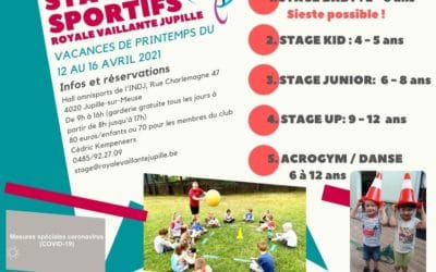 Stage Acrogym/Danse – 6/12 ans