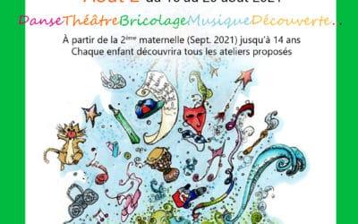 Stage Enfant multi-activités du 16 au 20 août 2021