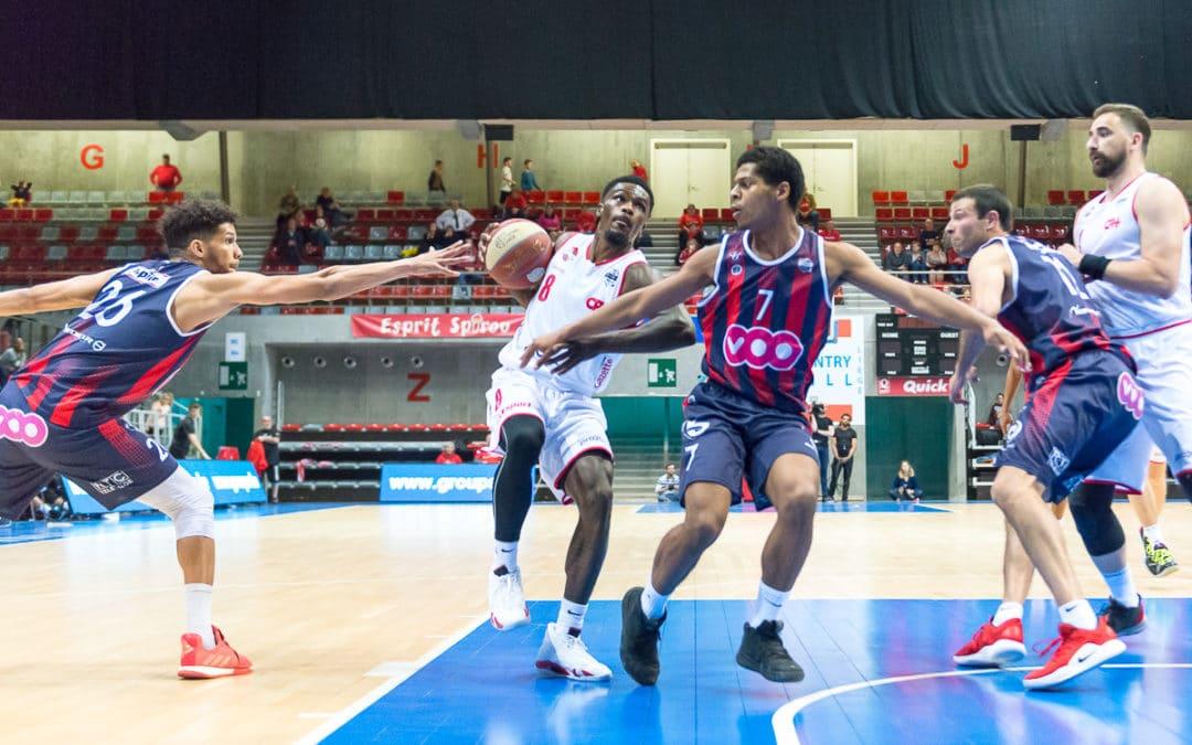 Liège Basket Vs Filou Oostende